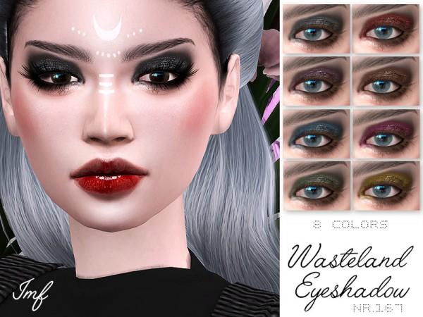 The Sims Resource: Wasteland Eyeshadow N.167 by IzzieMcFire