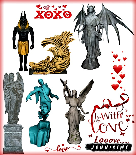 Jenni Sims: Decorative Statues