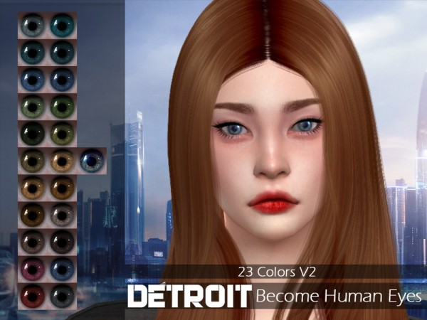 The Sims Resource Detroit Become Human Eyes V2 By