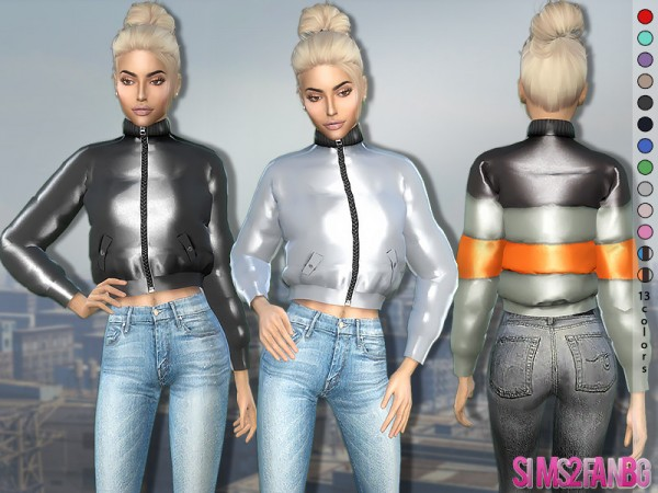 The Sims Resource: 371   Puffer Jacket by sims2fanbg