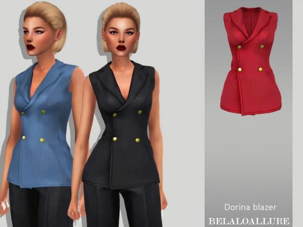 The Sims Resource: Dorina blazer by belal1997
