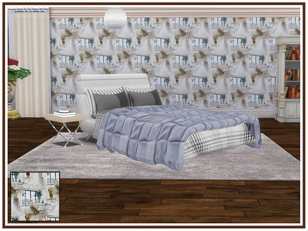 The Sims Resource: Bedroom Walls by marcorse