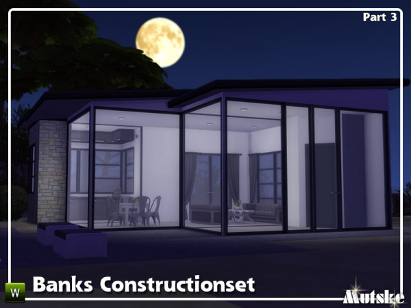 The Sims Resource: Banks Construction set Part 3 by mutske