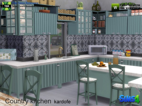 The Sims Resource: Country kitchen by kardofe