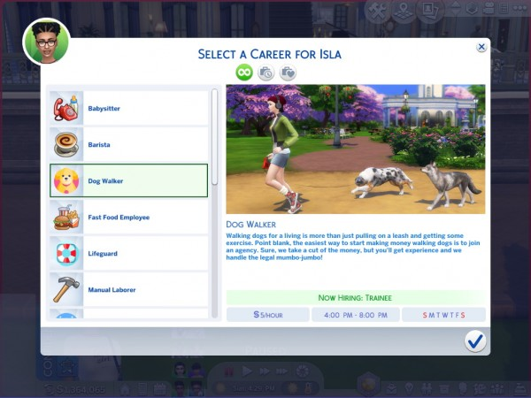 Mod The Sims: Ultimate Teen Career Set by asiashamecca