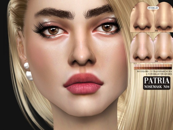 The Sims Resource: Patria Nosemask N04 by Pralinesims