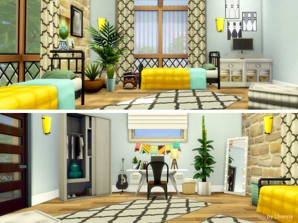 The Sims Resource: New Life House by Lhonna