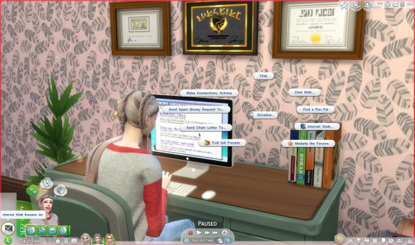 Mod The Sims: Computer   Faster Internet Stalk by soulkiller