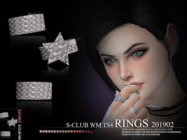 The Sims Resource: RINGS 201902 by S Club