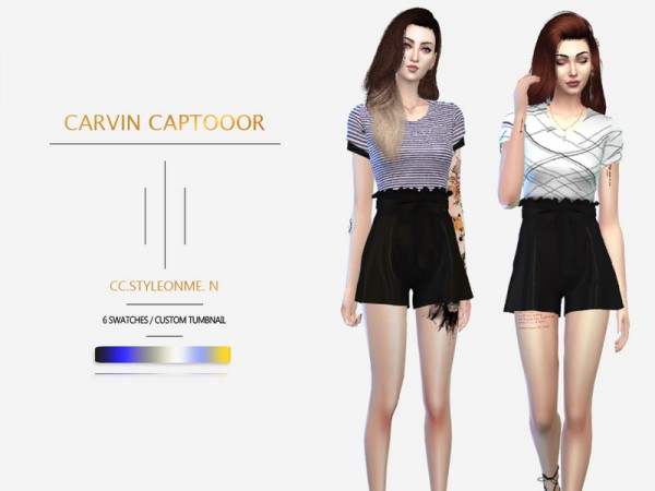 The Sims Resource: Styleonme. N dress by carvin captoor