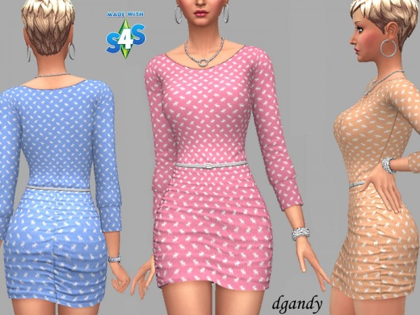 The Sims Resource: Dress Cassie by dgandy