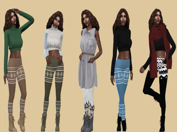 The Sims Resource: Acc Tights by Teenageeaglerunner