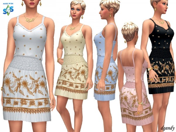 The Sims Resource: Dress   H201901 8 by dgandy