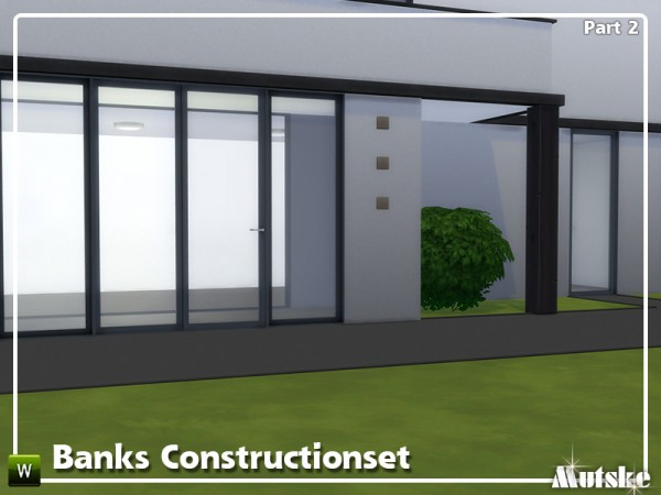 The Sims Resource: Banks Construction set Part 2 by mutske
