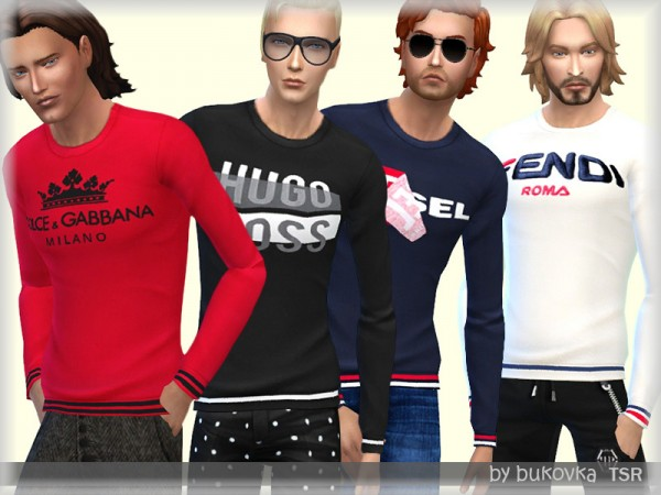 The Sims Resource: Shirt Longsleeve by bukovka