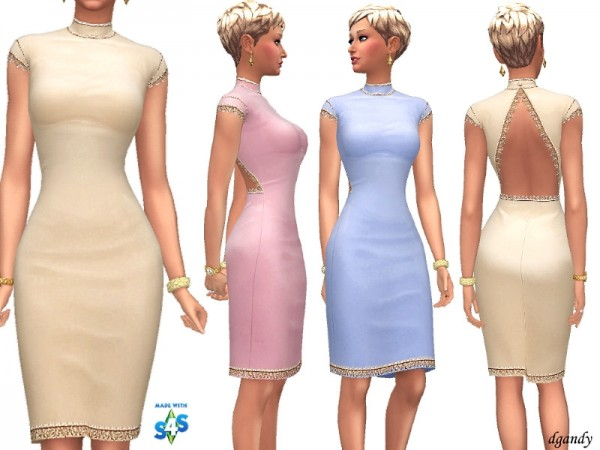 The Sims Resource: Dress   G201901 7 by dgandy