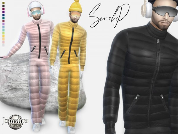 The Sims Resource: Swelp Snow male outfit by jomsims