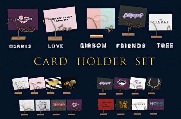 Leo 4 Sims: Cardholder set