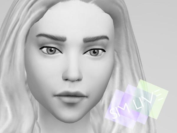 The Sims Resource: Skin overlay Daenerys by KikiSimLive