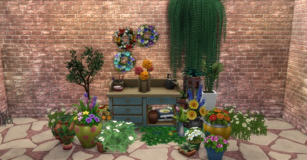 mod the sims faster flower arranging by c821118 sims 4 downloads. Black Bedroom Furniture Sets. Home Design Ideas