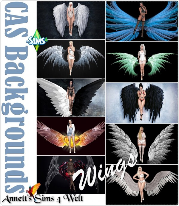 Annett`s Sims 4 Welt: CAS Backgrounds   Wings