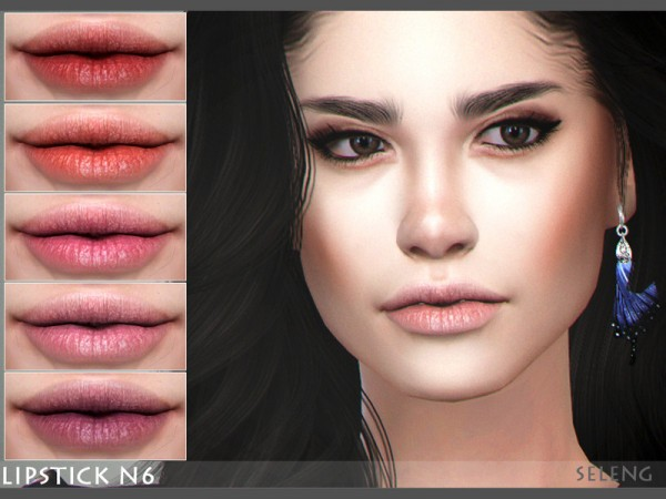 The Sims Resource: Lipstick N6 by Seleng