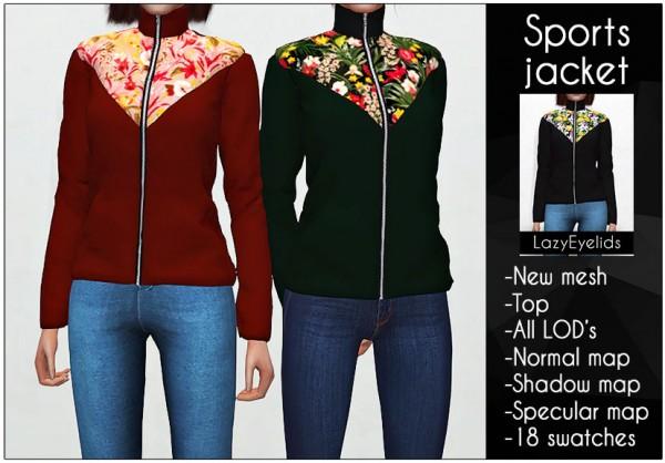 Lazyeyelids: Sport Jacket