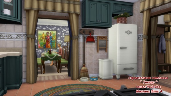 Sims 3 by Mulena: House Winter Snow