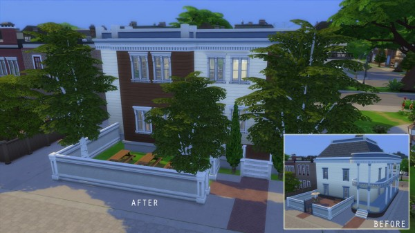 Mod The Sims: Willow Creeks Public Library NO CC by iSandor