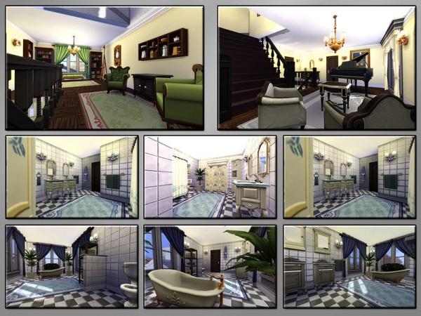 The Sims Resource: Petite Fleur house by matomibotaki
