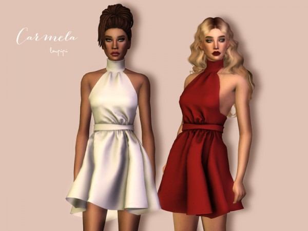 The Sims Resource: Carmela dress by laupipi