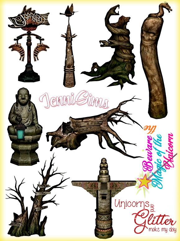 Jenni Sims: Garden statues