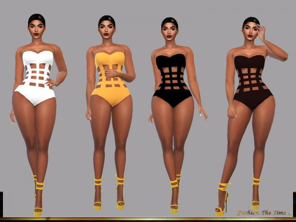 The Sims Resource: Swimsuit Diana by LYLLYAN