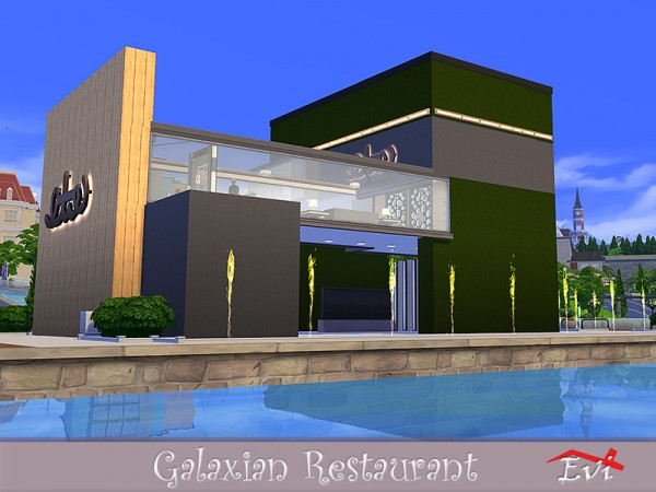 The Sims Resource: The Galaxian Restaurant by evi