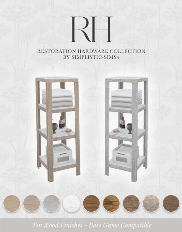 Simplistic: Collection Bathroom Shelves