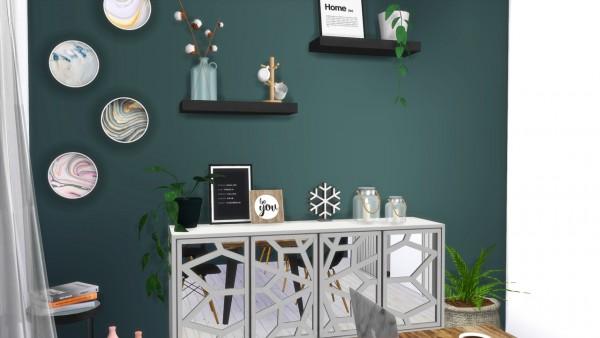 Models Sims 4: Green Lifestyle Diningroom