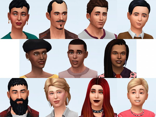 Simsontherope: New families