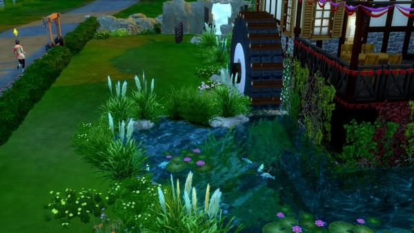 Mod The Sims: Le Moulin du Chateau by valbreizh