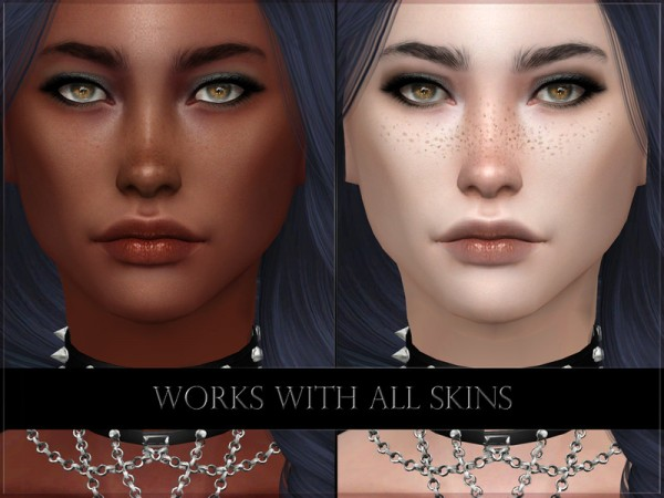 The Sims Resource: Myocyte Lipstick by RemusSirion