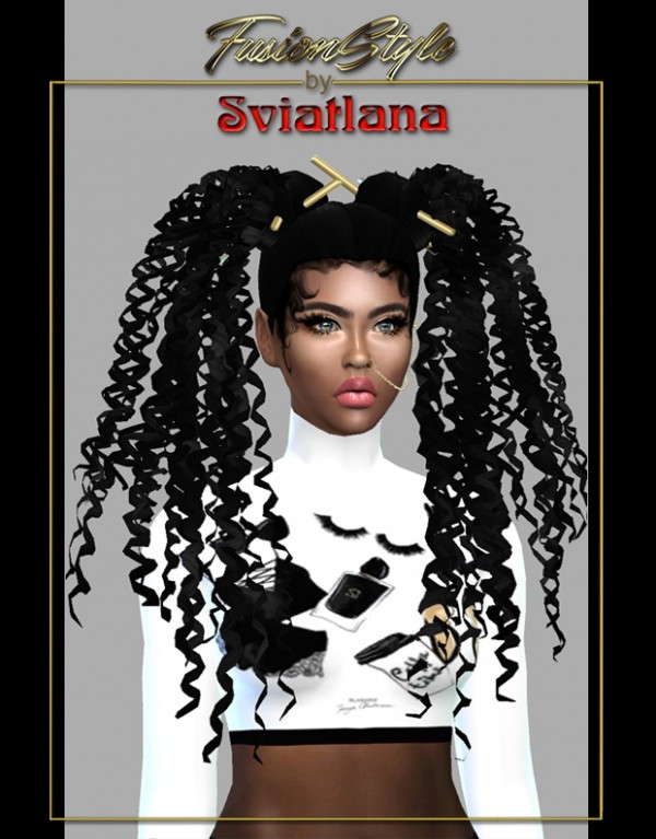 Fusion Style: Curly hair  by Sviatlana
