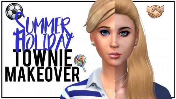 Models Sims 4: Summer Holiday