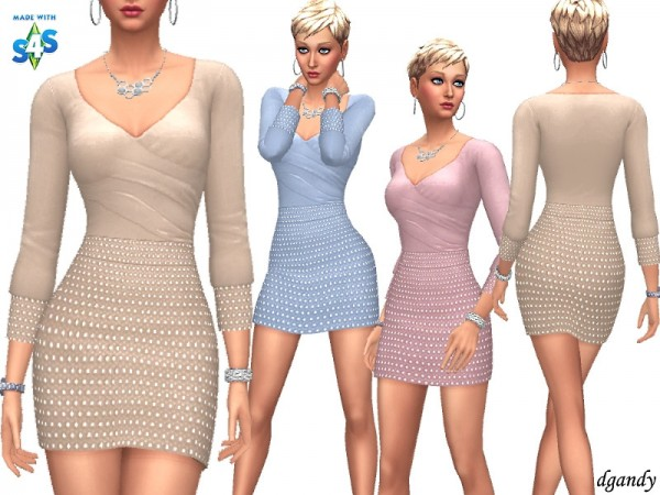 The Sims Resource: Dress   A201901 1b 16 by dgandy