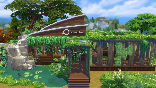 Mod The Sims: Cafe Amazon (No CC) by Oo NURSE oO