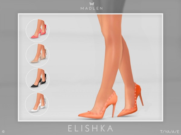 The Sims Resource: Madlen Elishka Shoes by MJ95
