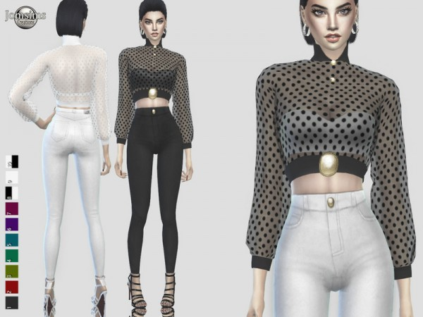 The Sims Resource: Claemi outfit by jomsims
