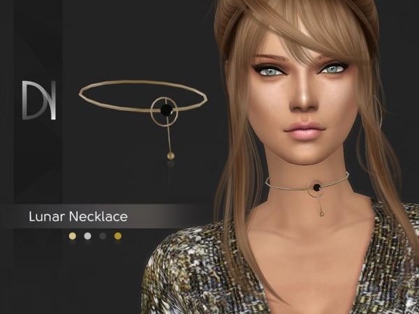 The Sims Resource: Lunar Necklace by DarkNighTt
