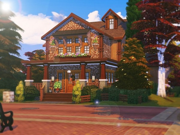 The Sims Resource: Beauty Of Autumn House by MychQQQ