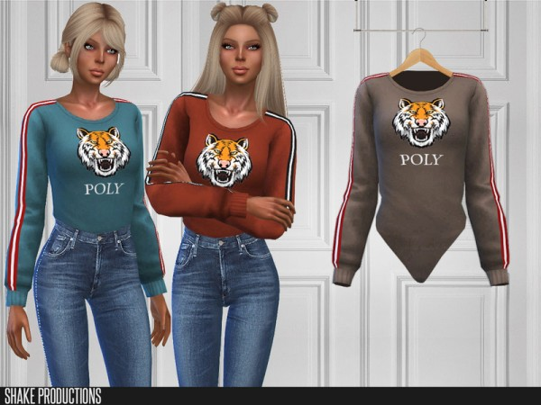 The Sims Resource: 216   Bodysuit by ShakeProductions