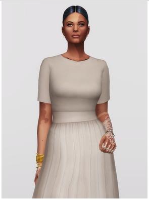 Rusty Nail: Stretch Knit Mini Dress