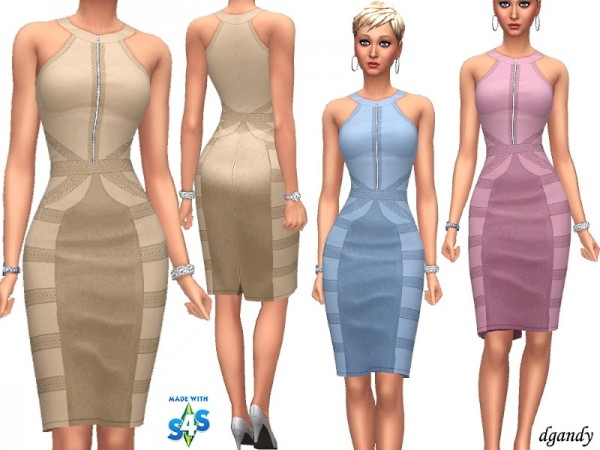 The Sims Resource: Dress   C201901 3b 18 by dgandy
